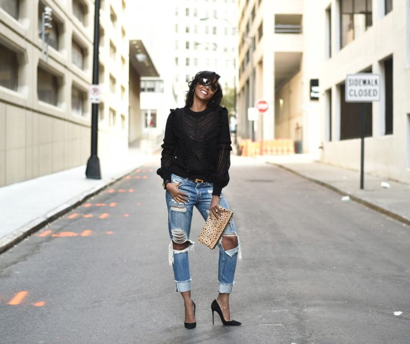 How To Reinvent Your Boyfriend Jeans
